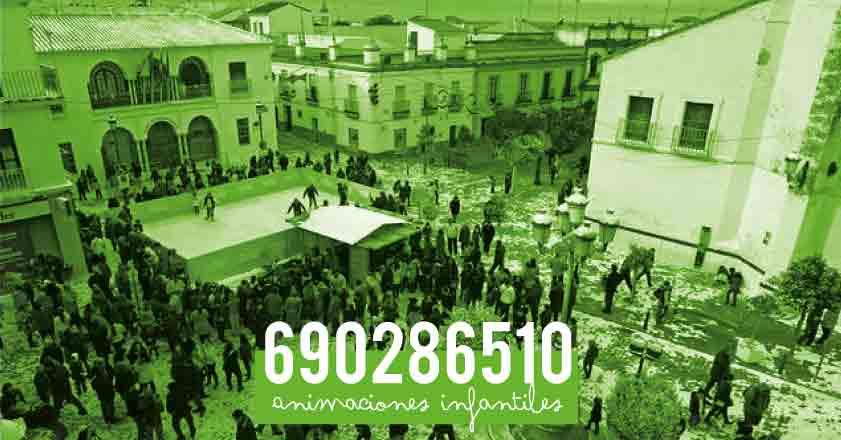 animaciones infantiles en Sanlúcar la Mayor Sevilla