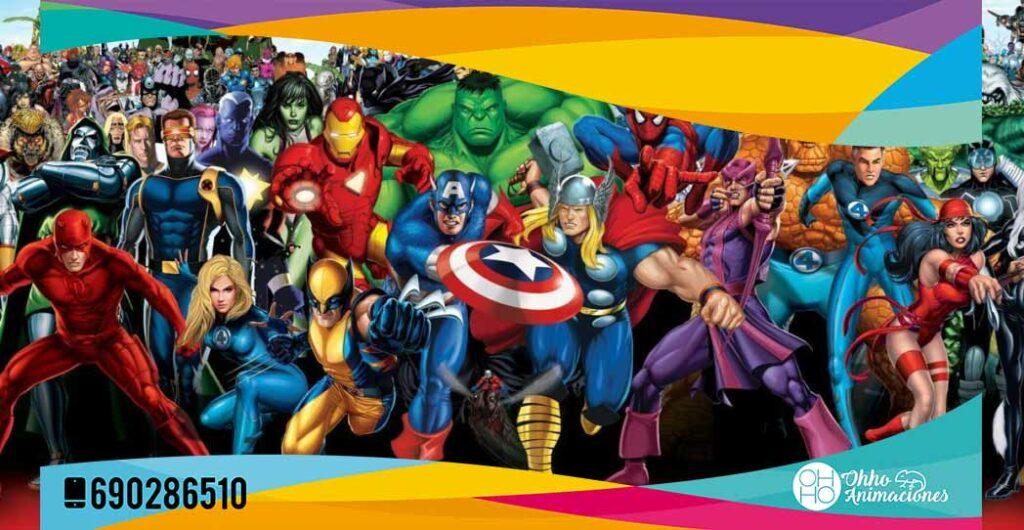 ideas para cumpleaños en superhéroes